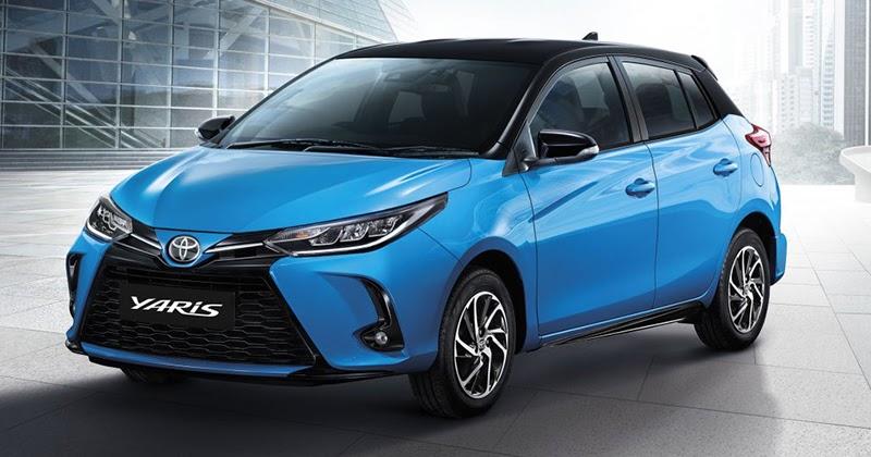 ข่ารถใหม่ Toyota Yaris โฉมใหม่ Minorchange 2020