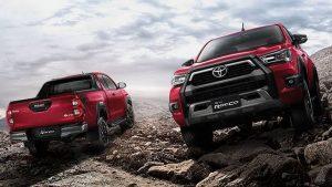รีวิวรถ Toyota Hilux Revo Rocco Minorchange
